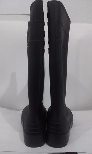 botas de caucho punta de acero 4 pares tallas  43 44 46