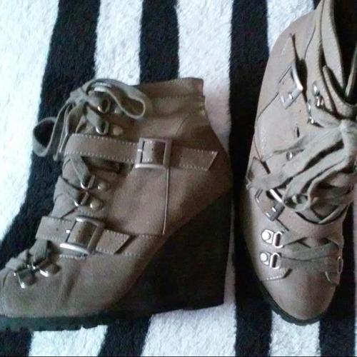 botas de #color:grey burnish nubuck pu #size: 7 en