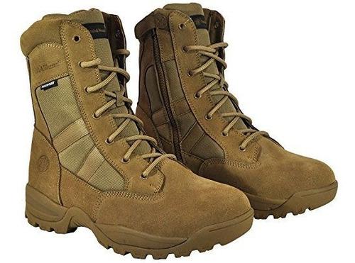 botas de cremallera laterales tacticas impermeables smith y