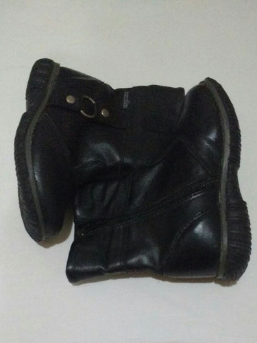 botas de cuero, 2da selección, plumitas.