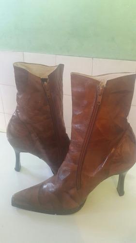 botas de cuero colombiano para dama