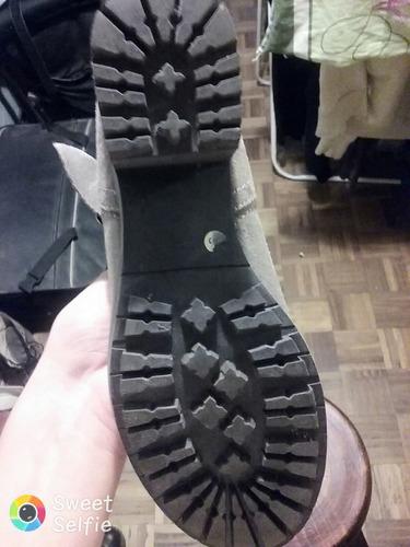 botas de cuero con solo un uso