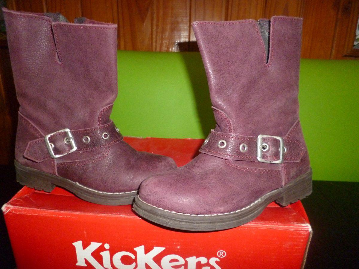 botas de cuero- kickers para niña n° 27. Cargando zoom. ada75e207a031
