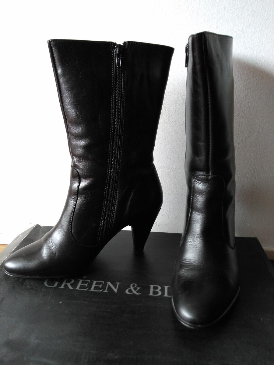 602bfc634fb botas de cuero mujer caña alta. impecables última moda. Cargando zoom.
