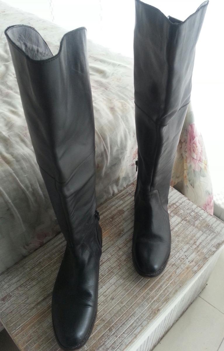e93e4ed32c5 botas de cuero mujer caña alta negras. Cargando zoom.