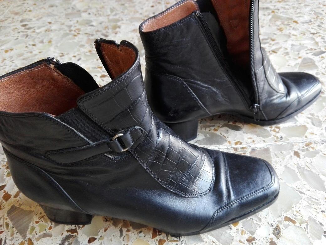 moda más deseable captura precio favorable Botas De Cuero Negras Clásicas - $ 500,00
