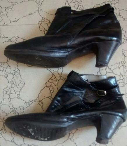 botas de cuero nuemero 36