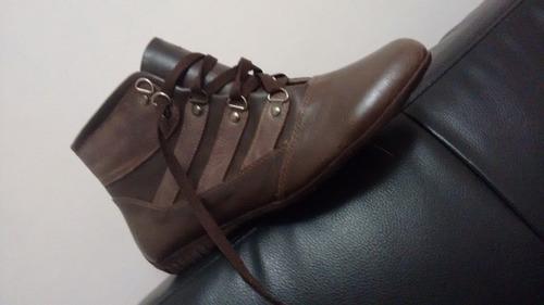 botas de cuero  para damas