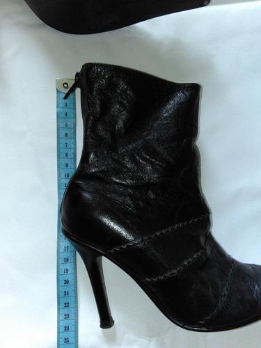botas de cuero para damas negociable