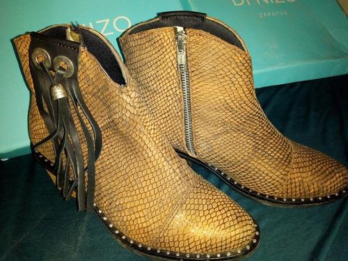 botas de cuero texanas