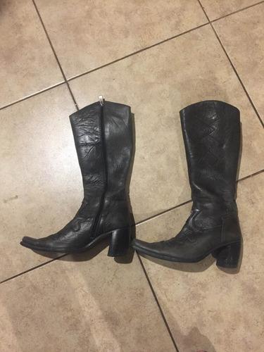 botas de cuero zappa talla 36