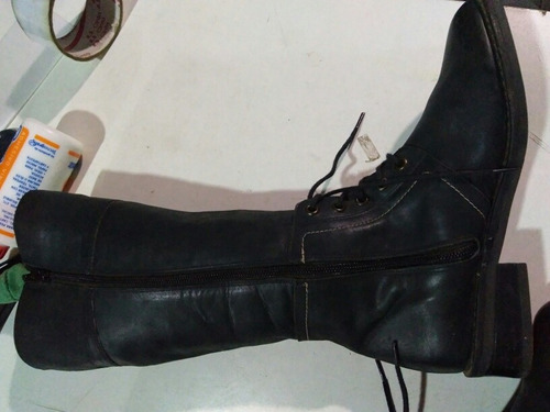 botas de dama de cuero muy buena calidad