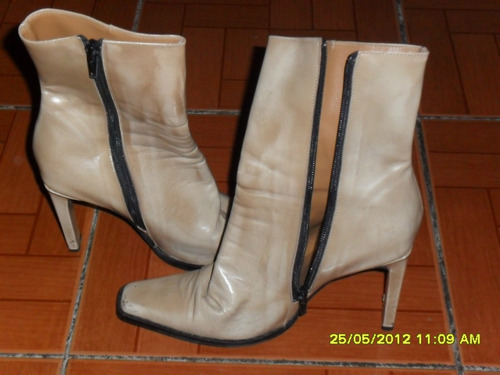 botas de dama numero 38..one