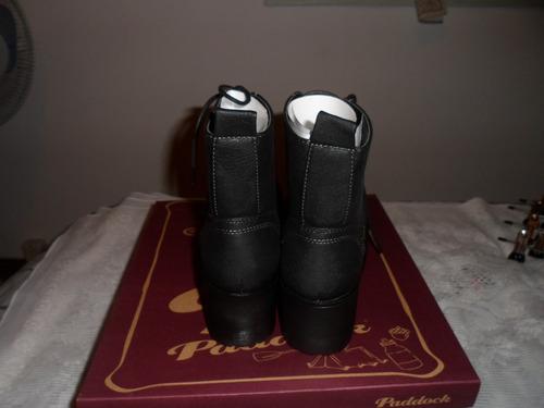 botas de dama paddock !!! nro.36 goma alta acordonadas !!!