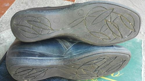 botas ¿ de damas azul marino
