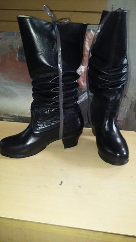 botas de folclore