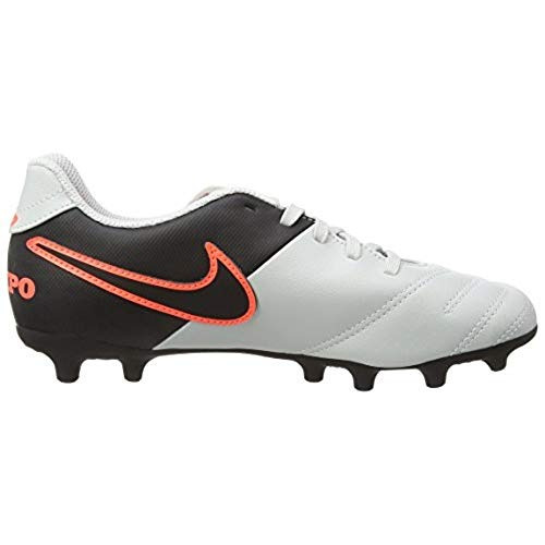 685d89c820e0e Botas De Fútbol Nike Jr. Tiempo Rio Iii Fg - 2y Pure... -   39.990 ...