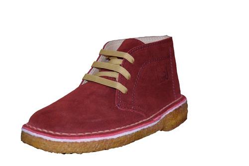 botas de gamuza