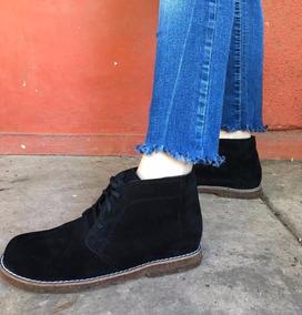 c25cecec591 Botitas Cortas De Gamuza Negra Botas - Zapatos de Mujer en Mercado ...