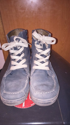 botas de gamuza nro 33 niño buble gummer excelente estado