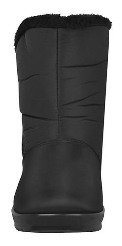 botas de invierno para dama furor 16365 negro
