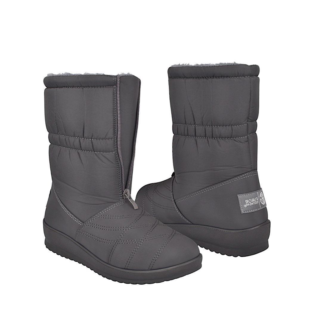 Botas De Invierno Para Mujer Furor 14038 Gris -   589.00 en Mercado ... 2d7937f2f779