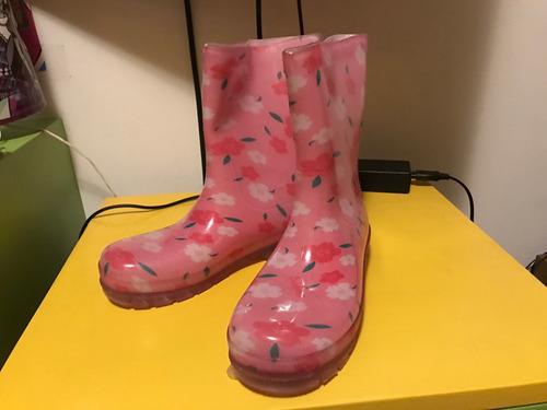 botas de lluvia 33/34