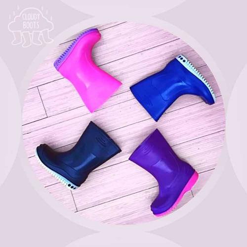 botas de lluvia, agua, lodo para niños y niñas del 21 al 33