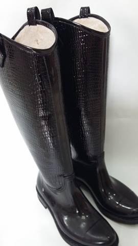 botas de lluvia forradas corderito ! +plantilla corderito !