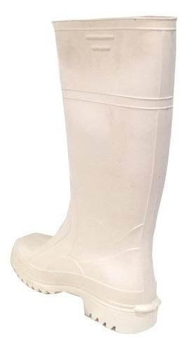 botas de lluvia frigorífica blanca marca pampero