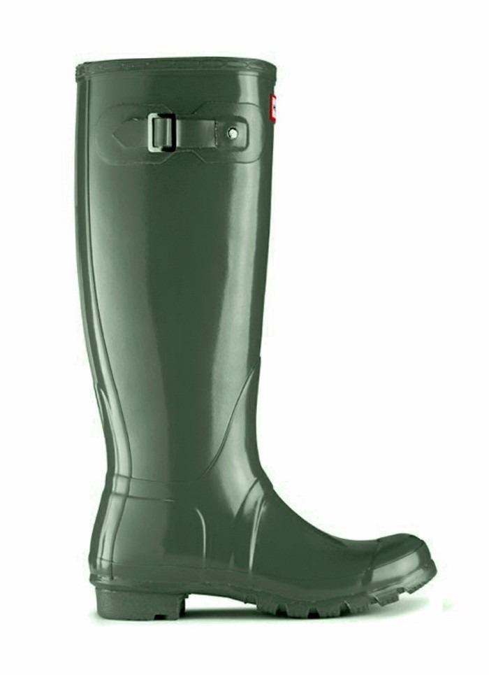 botas de lluvia gummi wellington altas hebilla mujer verdes. Cargando zoom. 52042353a126c