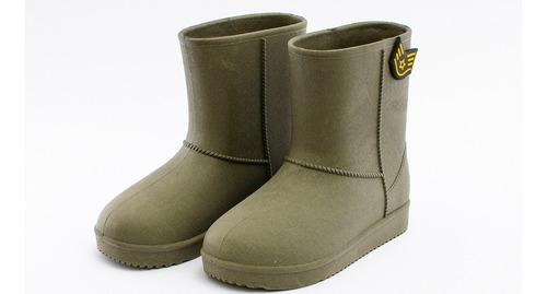 botas de lluvia hey day liso niño hd97