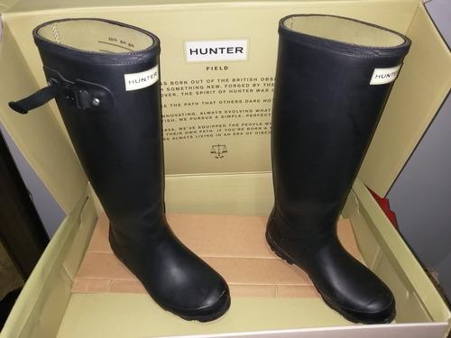 botas de lluvia hunter de dama talla 6 americano originales