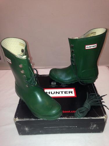 botas de lluvia hunter originales mujer  - impecable sin uso