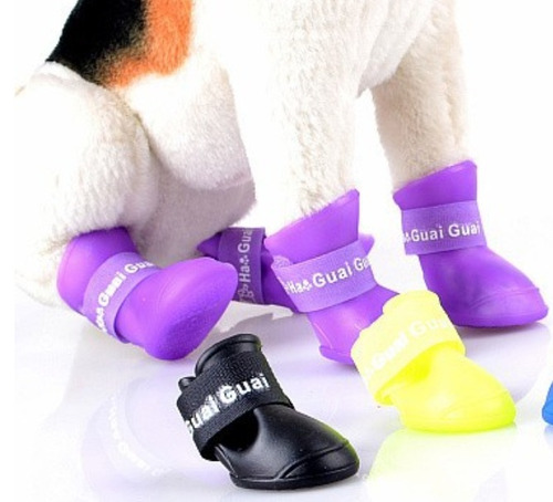 botas de lluvia impermeable para perro gato talla chica e4f