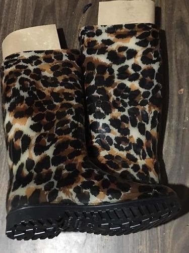 botas de lluvia lote x 10pares