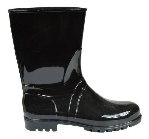 botas de lluvia mujer moda brillantes proforce (6150)