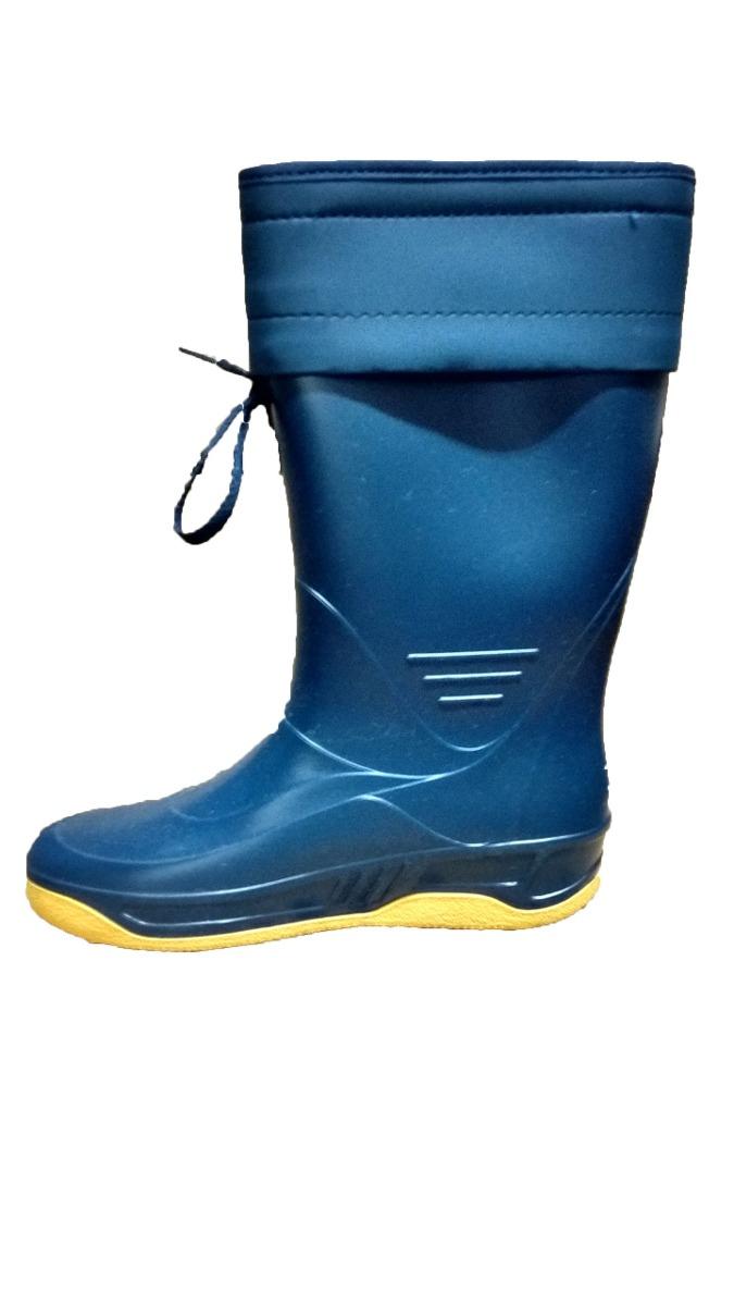 botas de lluvia nauticas con cuello marca calfor. Cargando zoom. 40119abbc3097