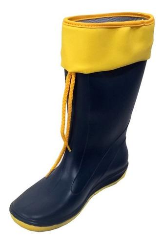 botas de lluvia náuticas marca pampero