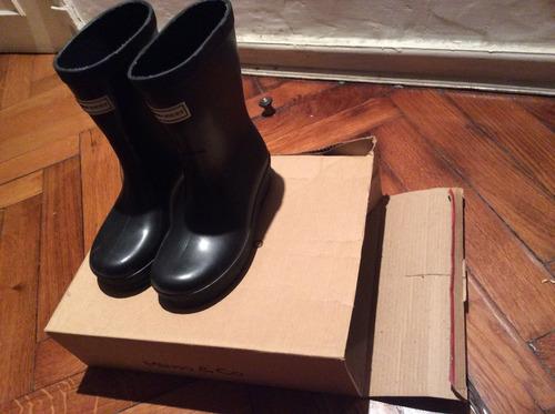 botas de lluvia niño / niña - como nuevas! impecables