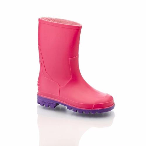 botas de lluvia pampero niño niña nuevas talles 26 al 33