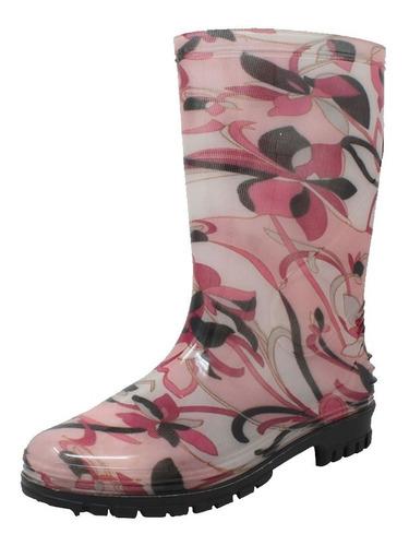 botas de lluvia para dama mx-1601-2