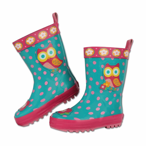botas de lluvia para niños forradas - stephen joseph