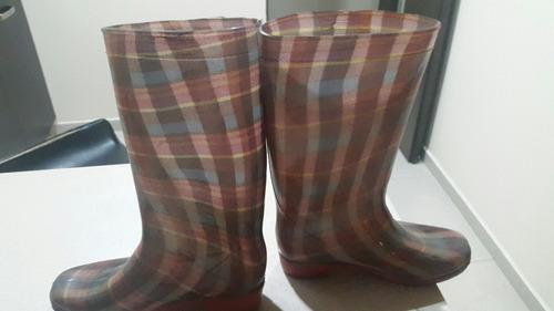 botas de lluvia señora