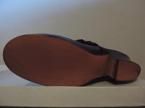 botas de malambo folklore baile acordeonada de cuero