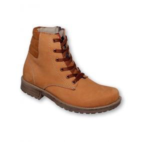 Botas De Moda Comoda Hombre Piel Miel mod.w006wi7423732