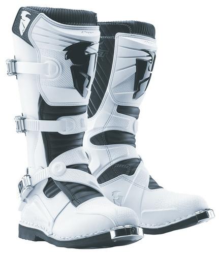 botas de motocross thor ratchet mx blancas 7