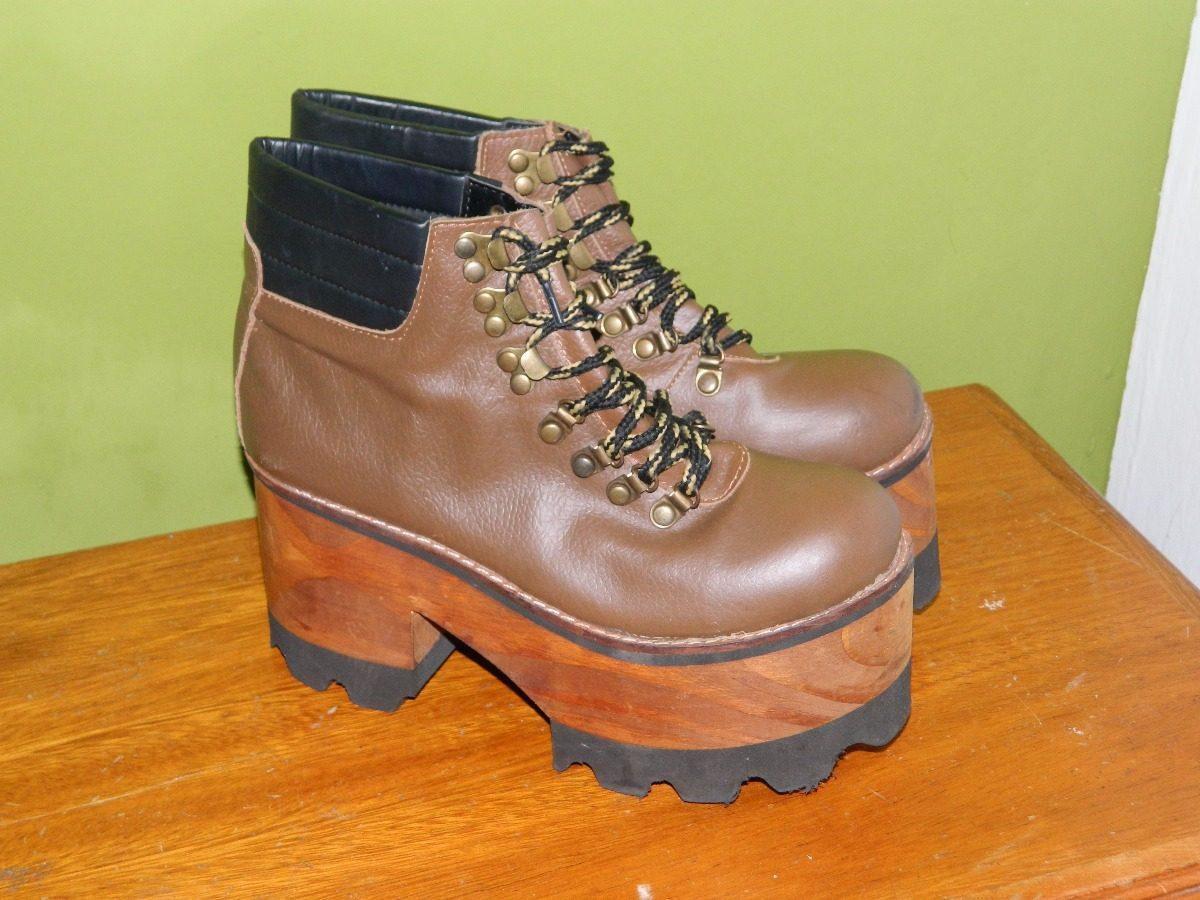botas de mujer tipo borcegos con plataforma zapatos. Cargando zoom. 3d73539bf099