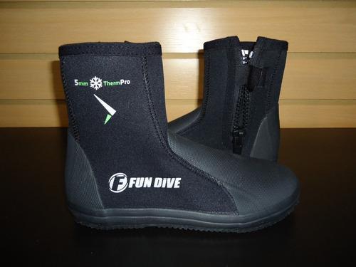 botas de neoprene marca fundive 5mm