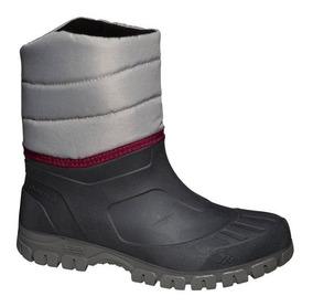 4f886ecb071a Botas De Nieve Frio Lluvia Para Dama Impermeables Y Cálidas Sh100 Montaña  Senderismo Ciudad Bici Moto